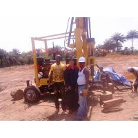 Wholesale Popular 300mm water borehole drilling machine drilling on hard rock and soft formation from china suppliers
