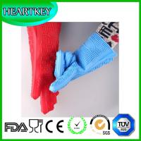 Wholesale Heat resistant silicone oven gloves- best oven grill gloves, great for cooking, boiling-water proof from china suppliers
