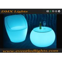 Wholesale Night Club Furniture Led Bar Table , Glow Pub Lighted Cocktail Tables from china suppliers