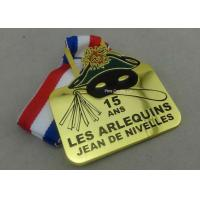 Wholesale Gold Belgium Carnival Celebration Medals Badge , Zinc Alloy Sports Medals from china suppliers