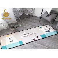 Wholesale Comfortable Washable Kitchen Rugs Non Slip For Dining Room / Kitchen from china suppliers