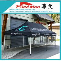 Wholesale Portable Black 10x10 Folding Canopy Tent With Aluminium Alloy Frame from china suppliers