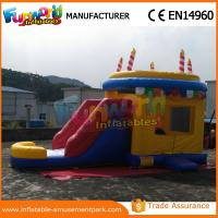 """Wholesale Customized Candle Inflatable Bouncer Slide CE SGS TUV ROHS <strong style=""""color:#b82220"""">EN71</strong> from china suppliers"""