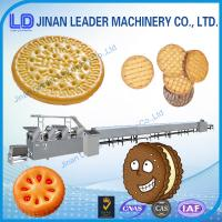 Quality Industries High efficiency soft waffle biscuit food Production line for sale