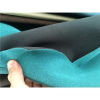 Wholesale Anti - Mildew  Bonded Suede Leather Fabric Easy Cleaning For Upholstery from china suppliers