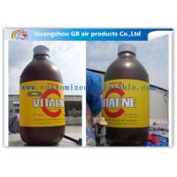 Wholesale Giant Bottle Outdoor Inflatable Advertising Signs Strong PVC Tarpaulin from china suppliers