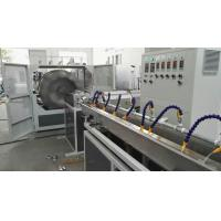 Wholesale 66kw Plastic Pipe Extrusion Machine / PVC Fiber Reinforced Hose Pipe Making Machine from china suppliers