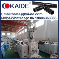 Quality China KAIDE inline round drip irrigation pipe making machine production extrusion line plant equipment manufacturer for sale