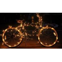 Quality Copper Wire Starry Solar String Lights Outdoor 100 Led Energy Saving for sale