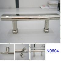 Wholesale SUS304 Polished Chrome shower handle / glass door handle N0604 from china suppliers