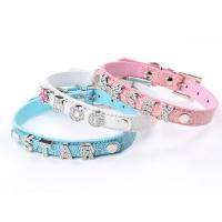 Wholesale Fashion letter dog collar with rhinestone from china suppliers