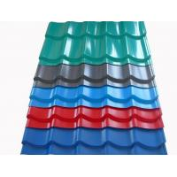 Wholesale Color Coated Corrugated Steel Roofing Sheets Galvalume Steel Roof Panel from china suppliers