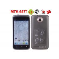 "Wholesale MTK6577 Dual Core Dual Sims Android 4.0 4.5"" Capacitive GPS Unlocked GSM Android Phones from china suppliers"