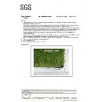 Wuxi Sunli Artificial Grass Carpet Co., Ltd, Certifications