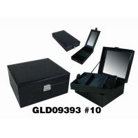 Wholesale Portable Elegant Storage Custom Jewelry Boxes Personalized Travel Jewelry Case from china suppliers