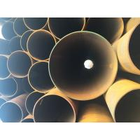 Wholesale API 5L X42 X52 X60 ERW Steel Pipe Straight Steel Oil / Gas Line Pipe 6 - 25mm Thick from china suppliers