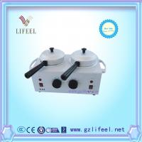 Wholesale Double Pot Wax Warmer Heater with Handle hair remove from china suppliers