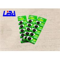 Wholesale Electronics Button Cell 3 Volt Battery , Lithium Coin Battery In Card Package 190mAh from china suppliers