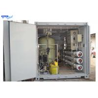 Wholesale Reverse Osmosis Purified Water Treatment System with 20ft Container from china suppliers