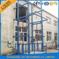 Wholesale Hydraulic Vertical Warehouse Industrial Lifts Elevators with 10 m Guide Rail CE from china suppliers