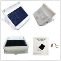 Quality Solar sensor clip light,outdoor security solar lights,automatic work,patent design for sale