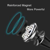 Quality 360 Rotating Portable Reinforced Magnetic Car Air Vent Phone Holder for Smartphone for sale