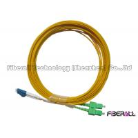 Wholesale G652 Optical Fiber Jumper With Kevlar , LC To SC Single Mode Fiber Patch Cable from china suppliers