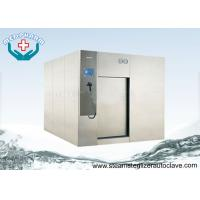 Wholesale PLC System Large Pharmaceutical Autoclave Steam Sterilizer With Horizontal Sliding Door from china suppliers