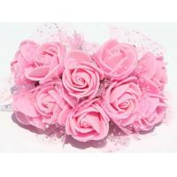 Wholesale Environmentally Beautiful PE Foam Rose Flower Heads EVA roses Handmade DIY Flowers from china suppliers