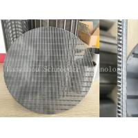 Wholesale Wedge Wire Screen Panel Fiter Mesh For Liquid Seperation Or Filtration With 0.3mm Opening Slot , OD 200mm from china suppliers