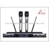 Wholesale Handheld Wireless Microphone Audio PA Systems UHF 690 - 860 MHz 100M Received distance from china suppliers