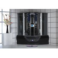 Wholesale 1000*900*2150mm 1 People K066 Aluminum color Lux Wet Steam shower Sauna Rooms from china suppliers