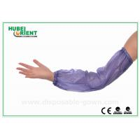 Wholesale Eco friendly disposable plastic arm sleeves Working Kitchen PVC Safety from china suppliers