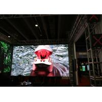 Quality HD Indoor LED Video Wall 5x5 / Custom RGB LED Display Board For Exhibition Shows for sale