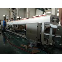 Wholesale Double Outlet PVC Small Pipe Extrusion Line , Plastic Tube Extrusion Machine from china suppliers