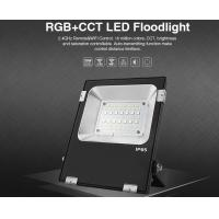 Wholesale Milight Wifi IP65 20W RGB+CCT LED Floodlight 2.4G All color RGB and CCT adjustable 3000k 6000k LED light with IOS APP from china suppliers
