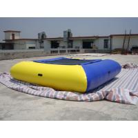 Wholesale Air Tight Inflatable Water Square Trampoline Water Toys For Water Sport Games from china suppliers