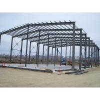 Wholesale Rigid Steel Building Frame For Textile Factories / Farm Building Infrastructure from china suppliers