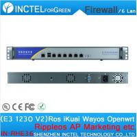 Wholesale Internet router manufacturers ROS 6 Gigabit flow control fortigate firewall with E3 1230 V2 processor H61 Express from china suppliers
