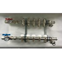 Buy cheap Intelligent Temperatyre Control Device Floor Heating Manifold Brass  Forged from wholesalers
