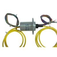 Wholesale 12 Wires Fiber Optic Slip Ring Environmentally Sealed , Connected With The Electric Slip Ring from china suppliers