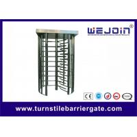 Wholesale Pedestrian Security Gates Automatic Turnstile Full Height With Memory Function from china suppliers