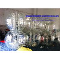 Wholesale Clear Inflatable Bumper Ball For Adults , Bubble Soccer Football With Pump from china suppliers