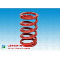 Wholesale Red Powder Coated Machinery Springs / 9.5MM Wire Isolate Vibration Springs from china suppliers