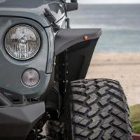 Wholesale Jeep Wrangler Aluminum Front Fender Flares Material: Aluminum from china suppliers