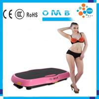 Quality Whole Body Crazy Fit Massage Vibration Plate Indoor Exercise Machine for sale