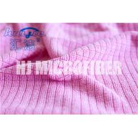 Quality MIcrofiber Weft Knitted Hand Towel home use kitchen stripe cleaning towel super soft for sale