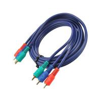Wholesale 3RCA male to 3RCA male cable with golden plated from china suppliers