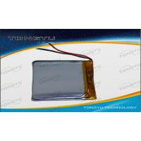 Wholesale Durable Rechargeable Lithium Batteries 3.7V 2200mAh For Liquid Level Monitor from china suppliers