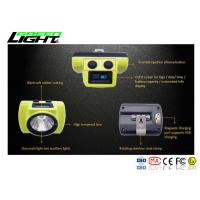 China Cree Rechargeable LED Headlamp Cordless USB Charger For Hard Hat Light Running on sale